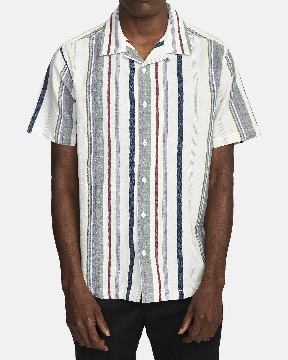 1 REPITITION SHORT SLEEVE SHIRT Silver AVYWT00130 RVCA