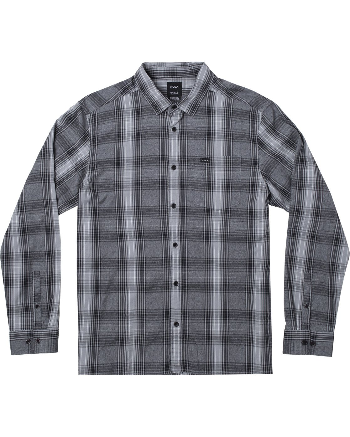 0 INVERNESS PLAID LS  AVYWT00133 RVCA