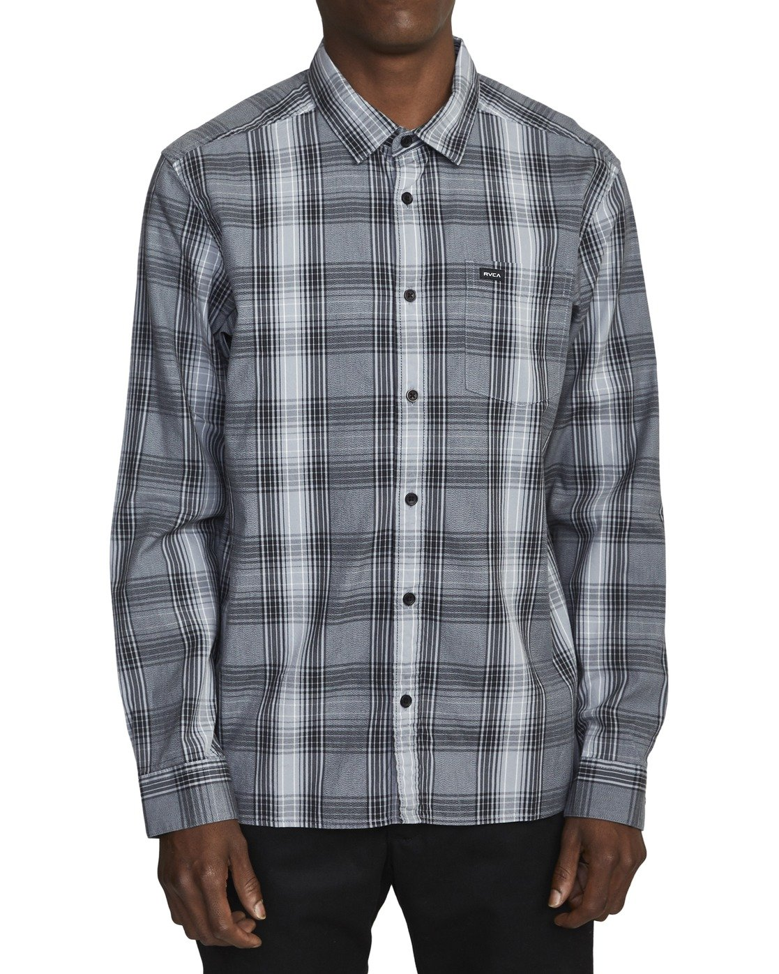 1 INVERNESS PLAID LS  AVYWT00133 RVCA