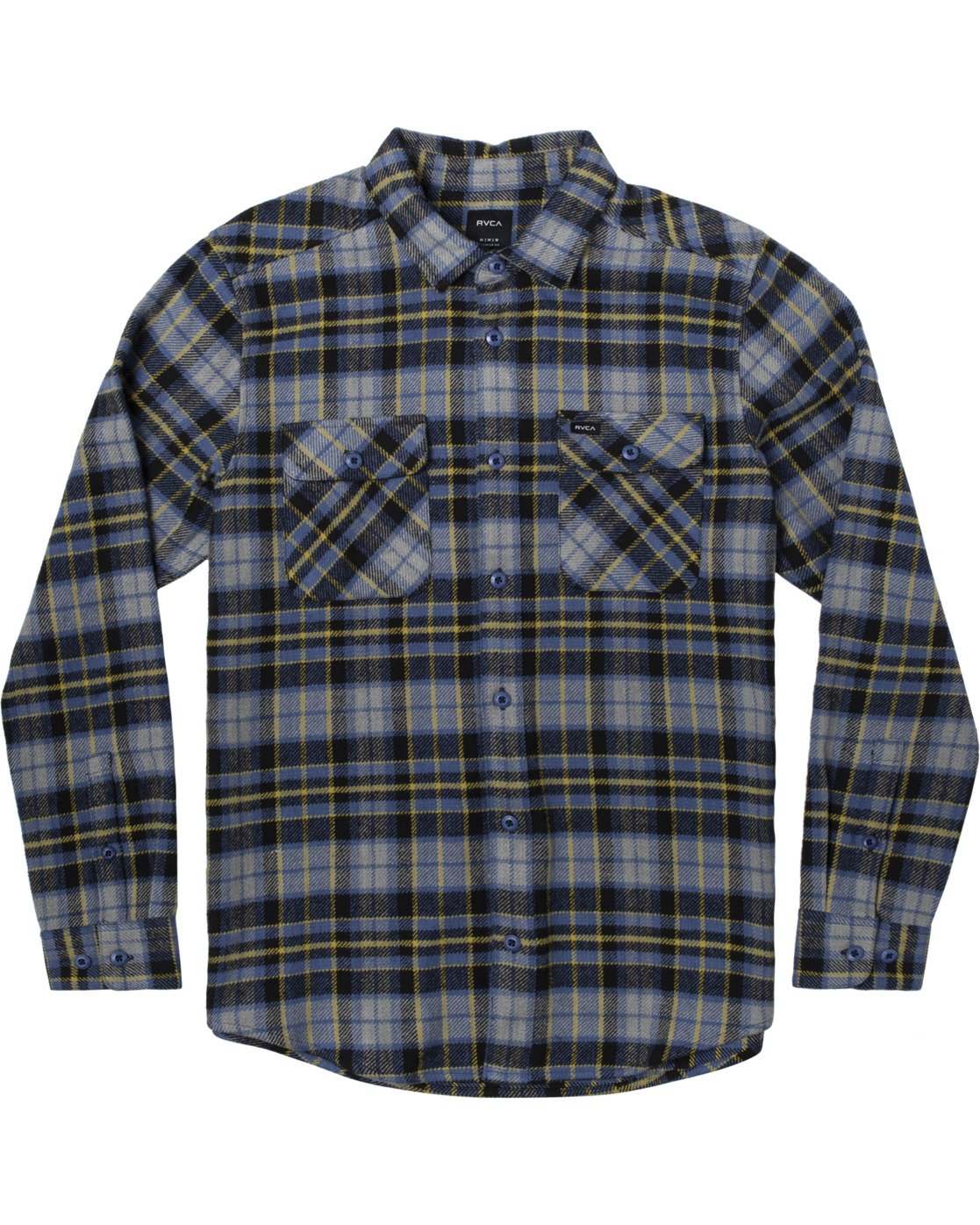 1 OPERATOR FLANNEL LONG SLEEVE SHIRT Multicolor AVYWT00137 RVCA