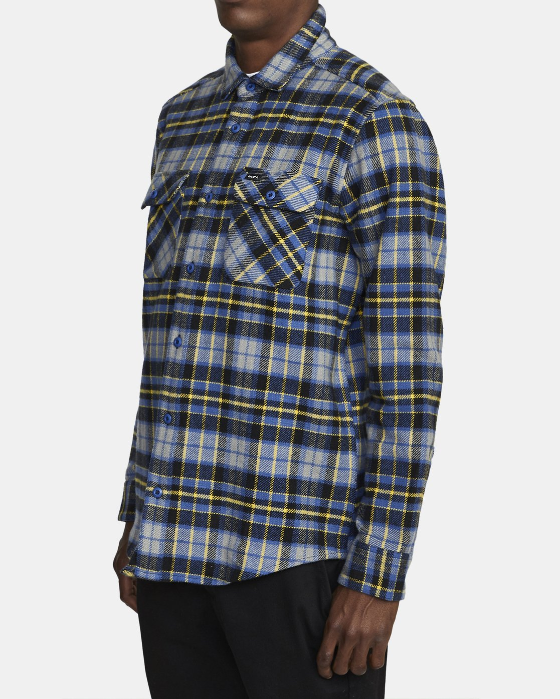 4 OPERATOR FLANNEL LONG SLEEVE SHIRT Multicolor AVYWT00137 RVCA
