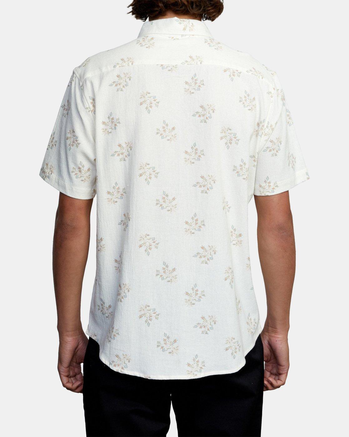 2 Prarie Floral Short Sleeve Shirt White AVYWT00206 RVCA