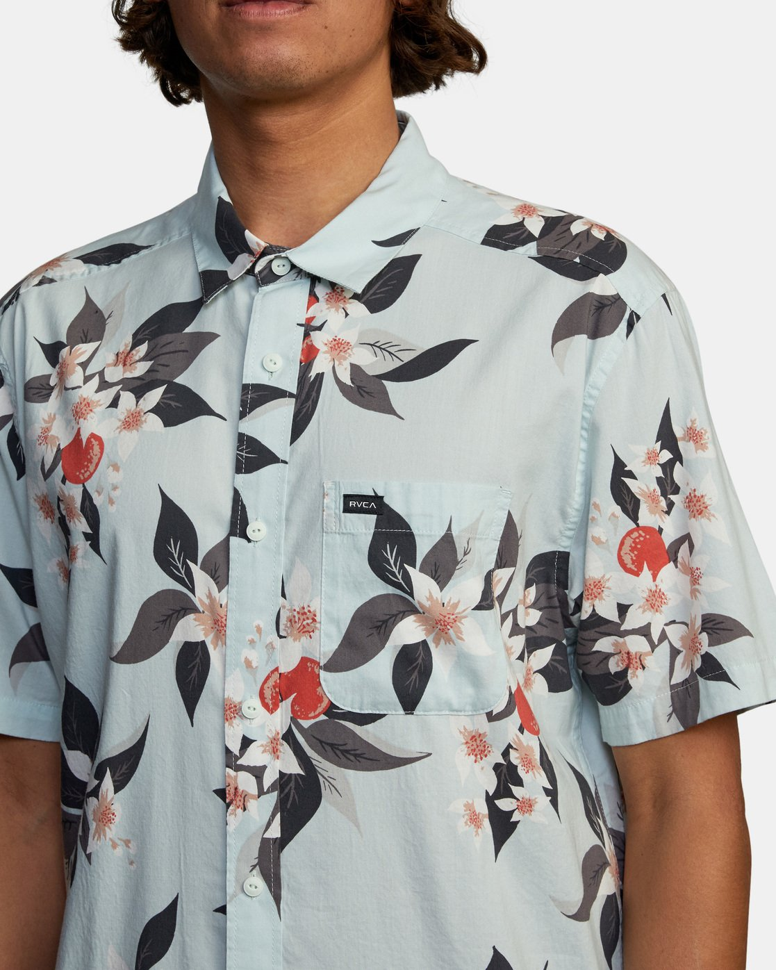 4 Anaheim Short Sleeve Shirt Green AVYWT00220 RVCA