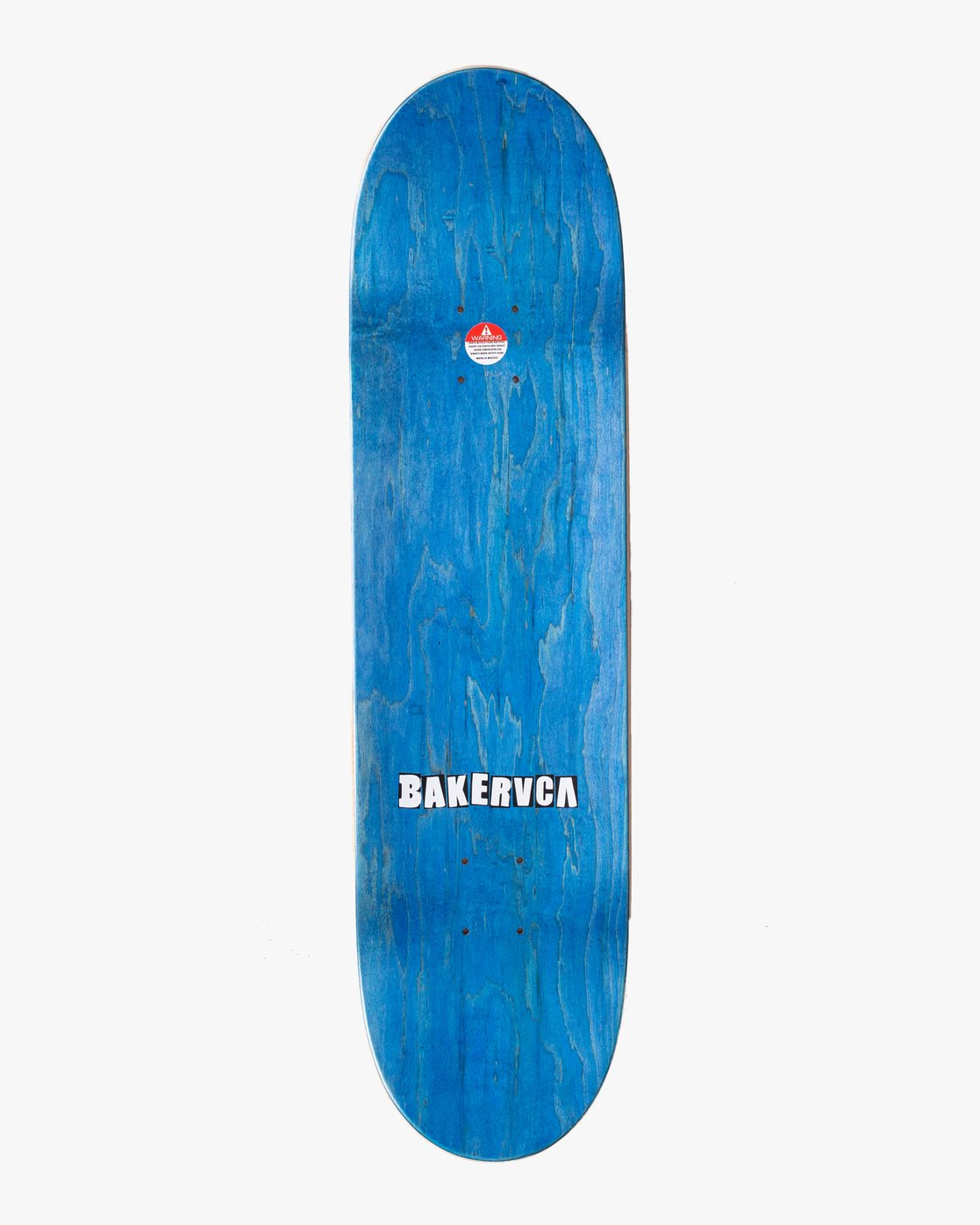 1 BAKERRVCA 8.25 SKATEBOARD DECK Red AVYXD00101 RVCA