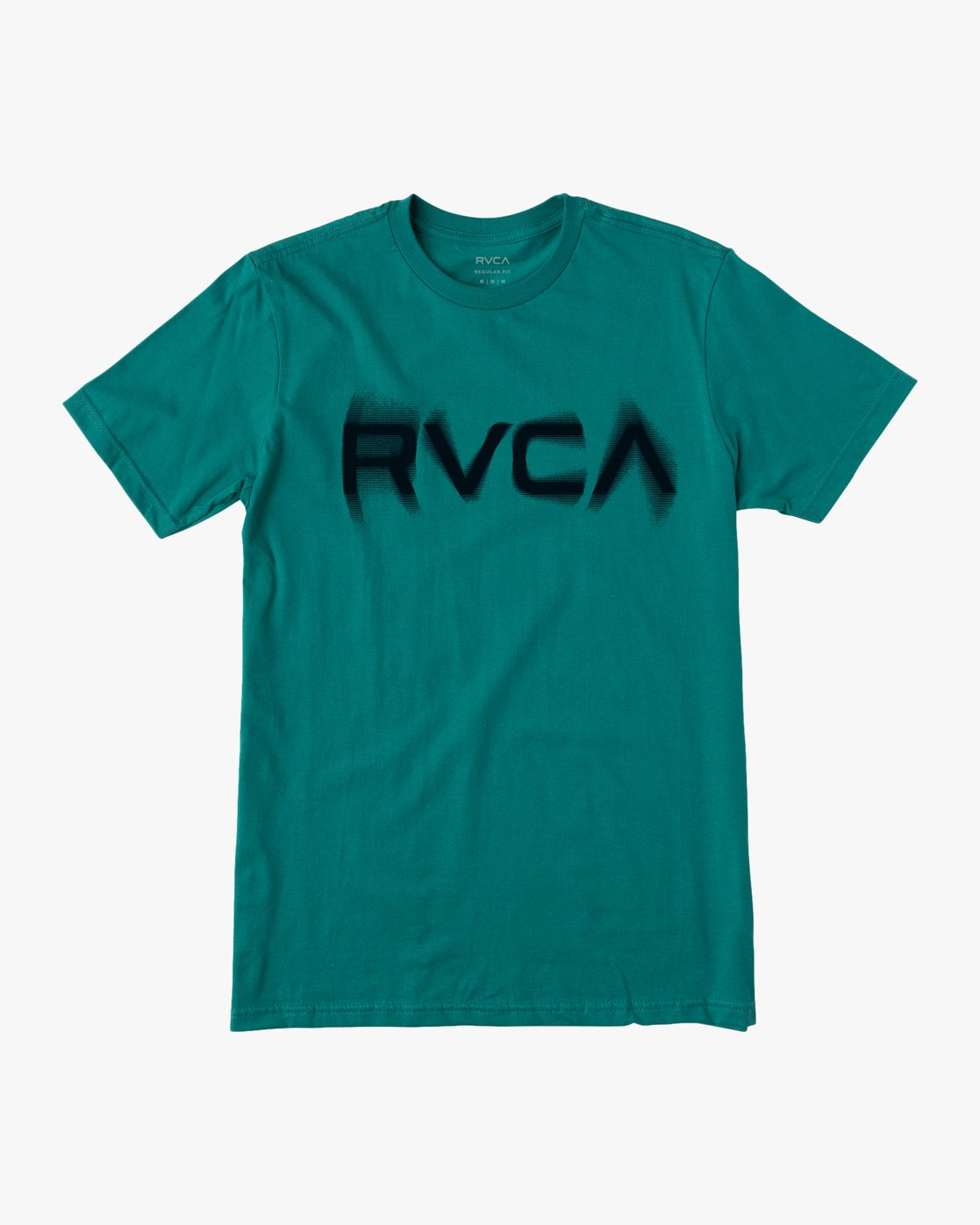 0 BLURS SHORT SLEEVE TEE Blue AVYZT00113 RVCA