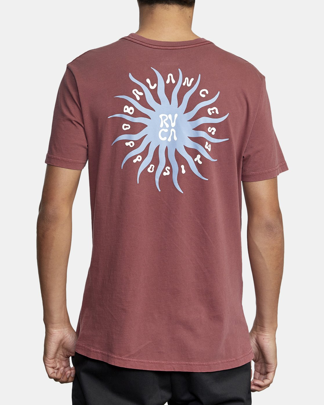 3 SUN SPROUT SHORT SLEEVE TEE Red AVYZT00120 RVCA