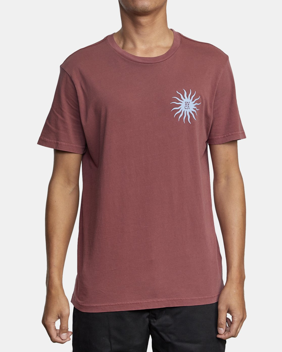 2 SUN SPROUT SHORT SLEEVE TEE Red AVYZT00120 RVCA