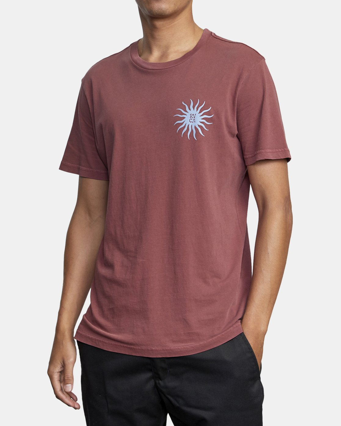 5 SUN SPROUT SHORT SLEEVE TEE Red AVYZT00120 RVCA