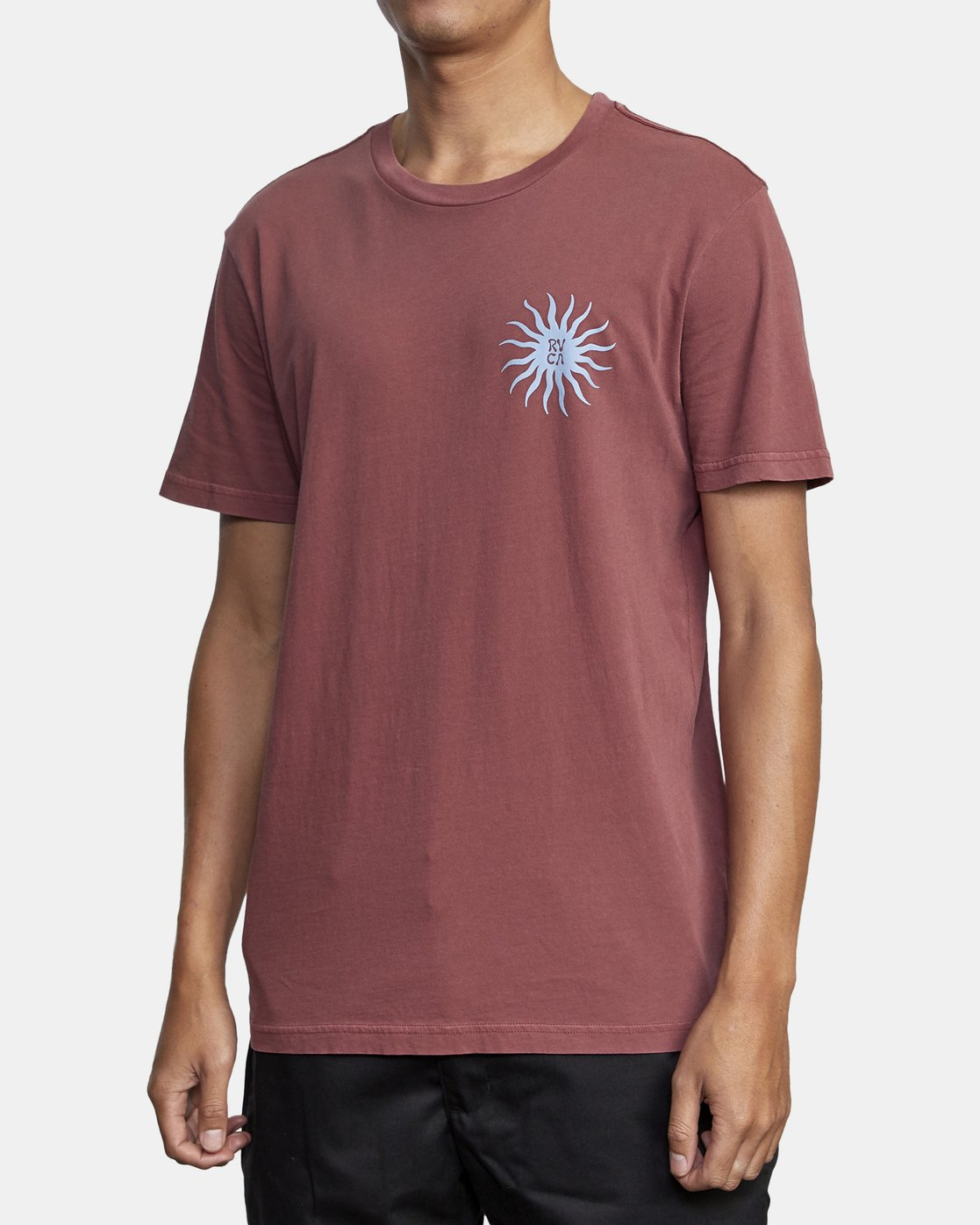 6 SUN SPROUT SHORT SLEEVE TEE Red AVYZT00120 RVCA