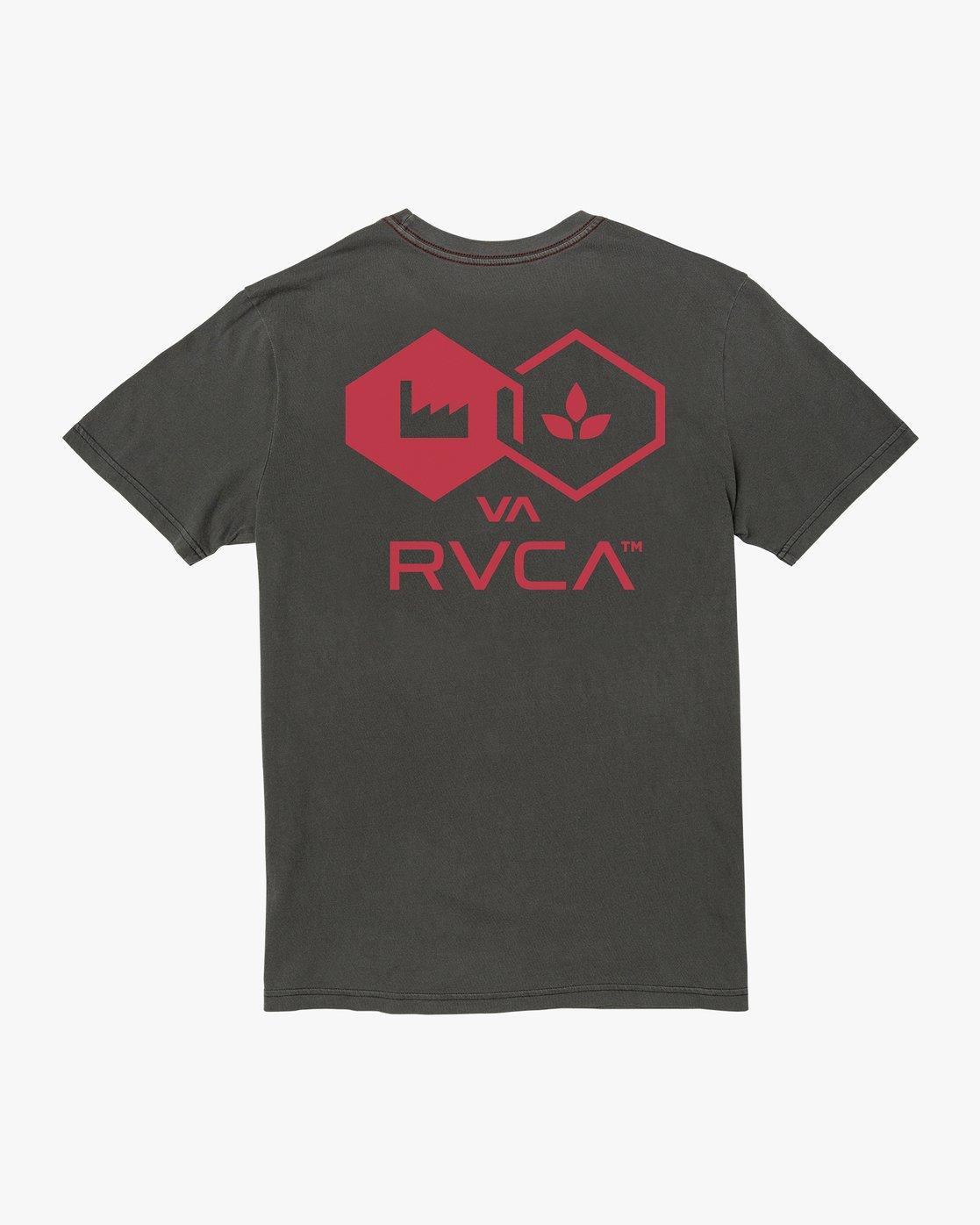 1 MAGHURST SHORT SLEEVE Black AVYZT00123 RVCA