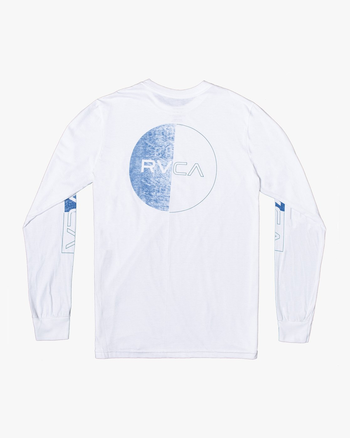 1 DIVIDES LONG SLEEVE TEE White AVYZT00134 RVCA