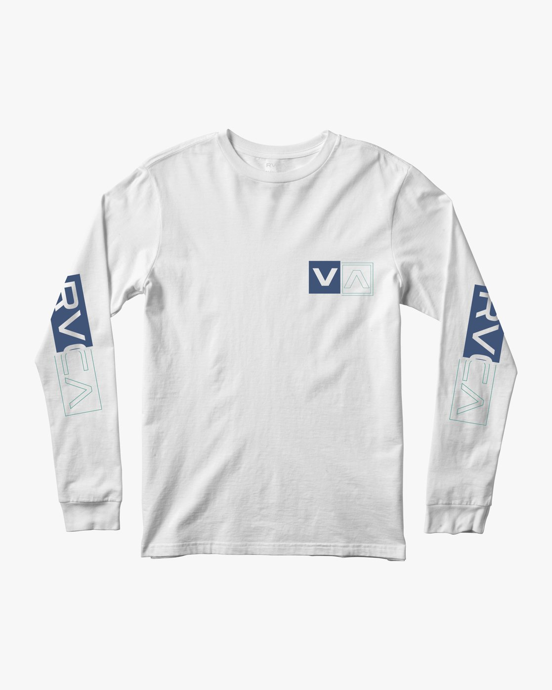 0 DIVIDES LONG SLEEVE TEE White AVYZT00134 RVCA
