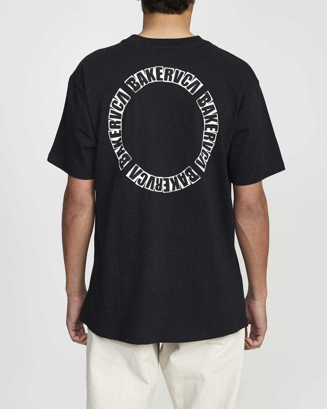4 BAKERVCA SHORT SLEEVE TEE Black AVYZT00161 RVCA