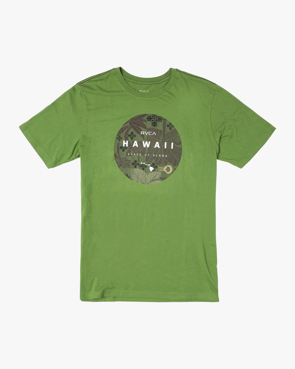 0 HAWAII MOTORS SHORT SLEEVE TEE Multicolor AVYZT00193 RVCA