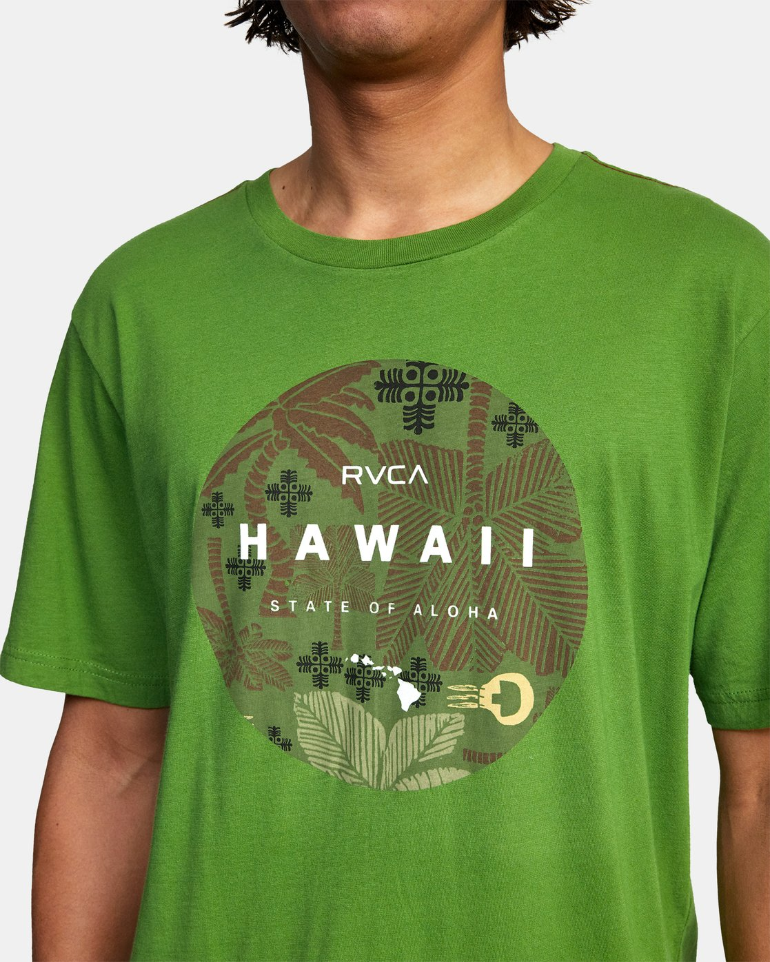 4 HAWAII MOTORS SHORT SLEEVE TEE Multicolor AVYZT00193 RVCA