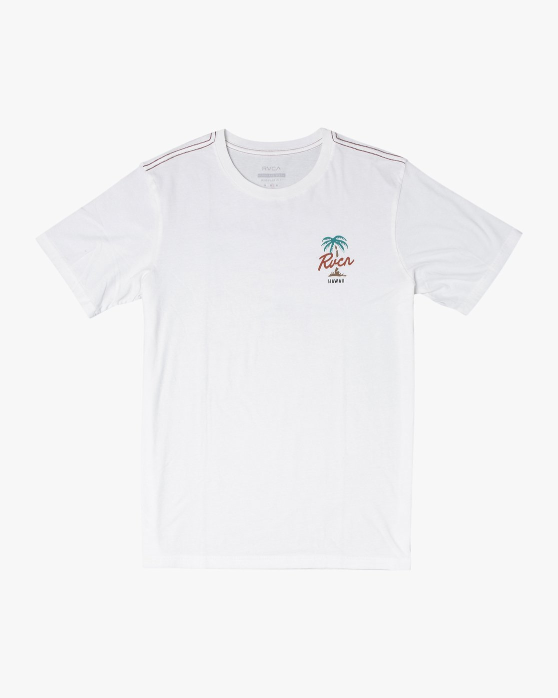 0 VOYAGER SHORT SLEEVE TEE White AVYZT00194 RVCA