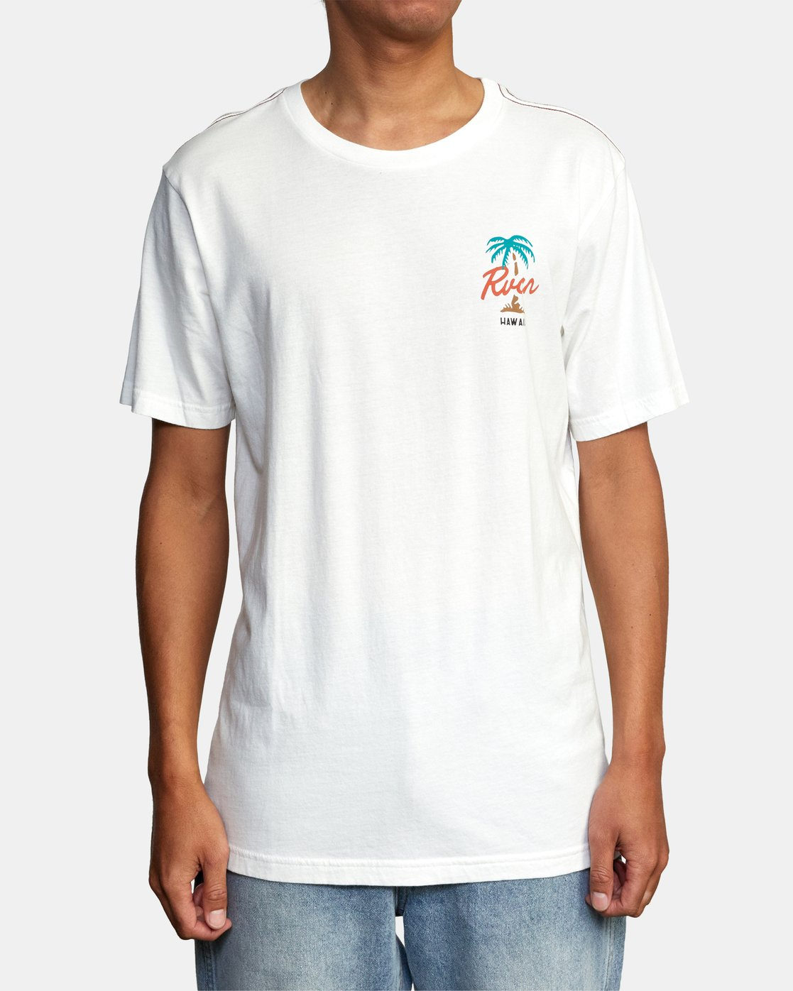 1 VOYAGER SHORT SLEEVE TEE White AVYZT00194 RVCA