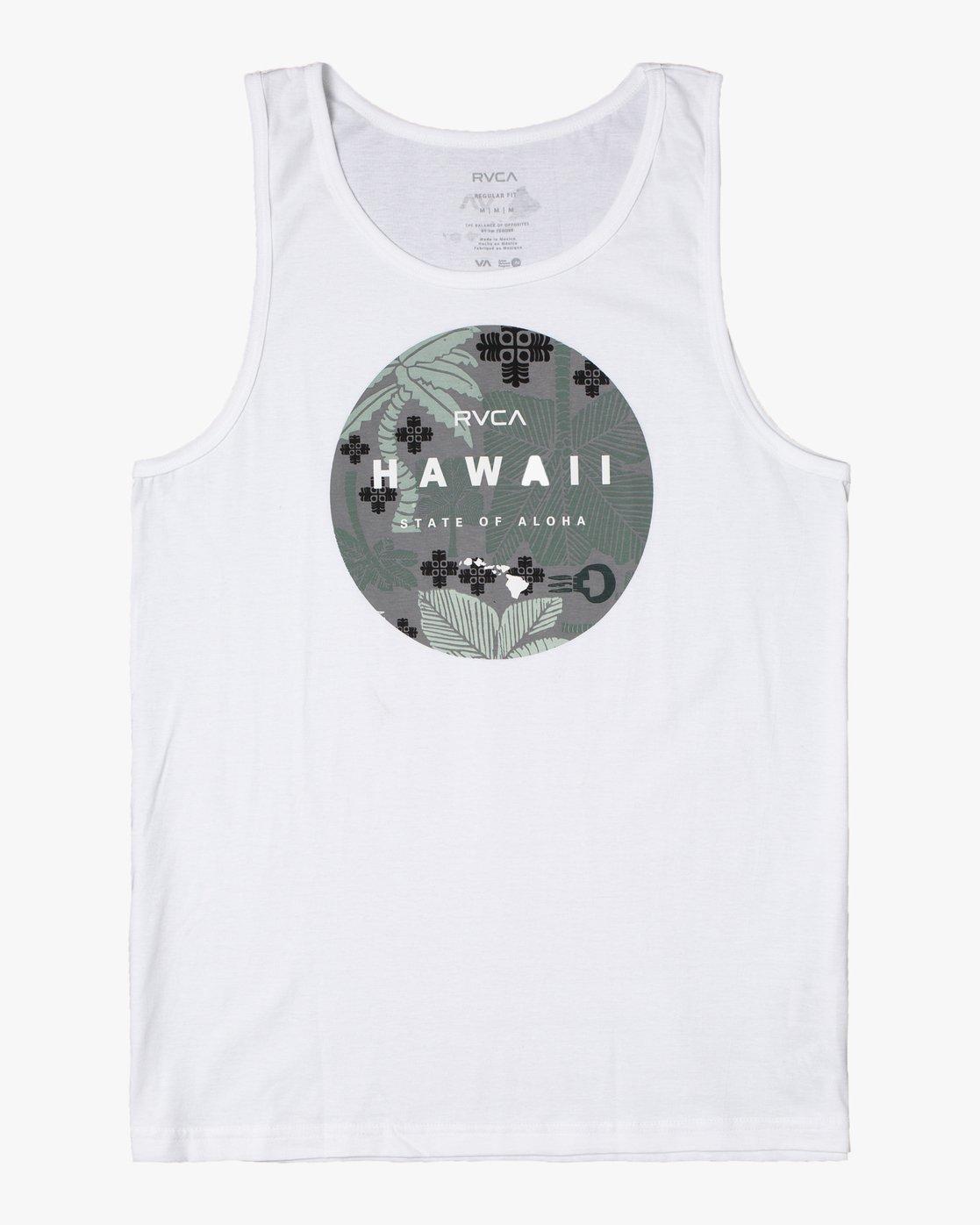0 HAWAII MOTORS TANK TOP White AVYZT00195 RVCA