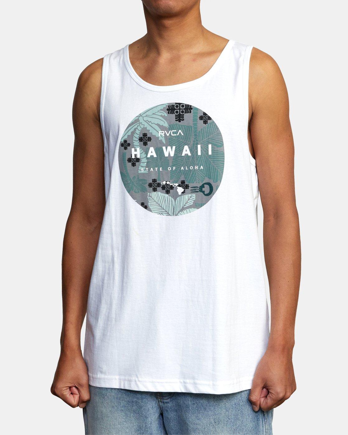 1 HAWAII MOTORS TANK TOP White AVYZT00195 RVCA
