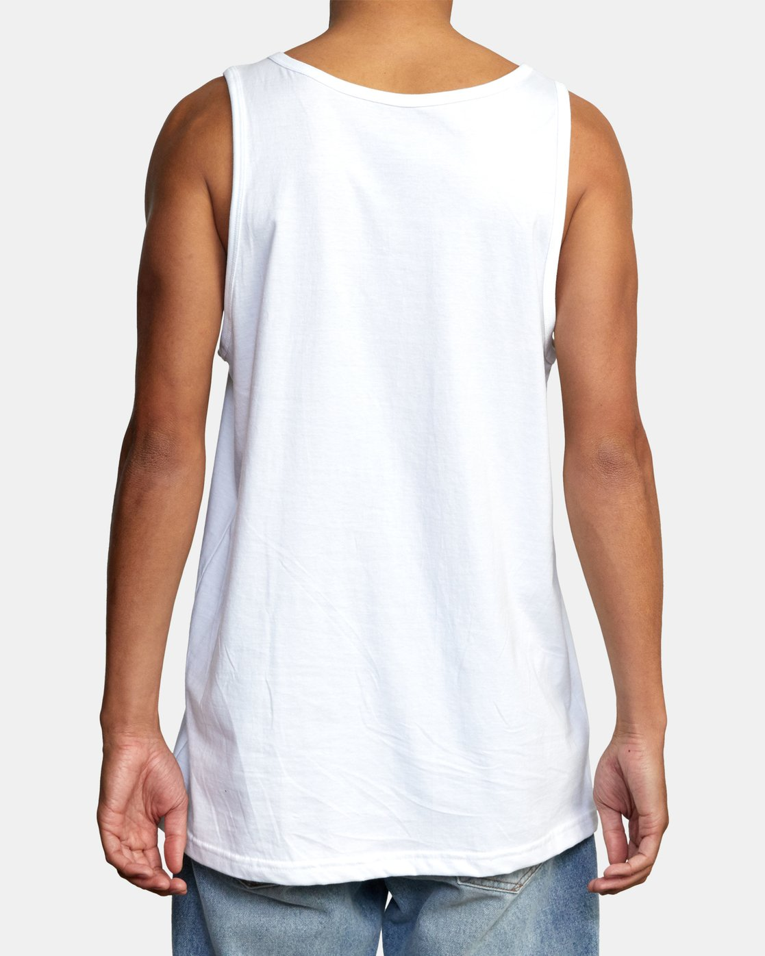 2 STATE OF ALOHA TANK TOP White AVYZT00196 RVCA