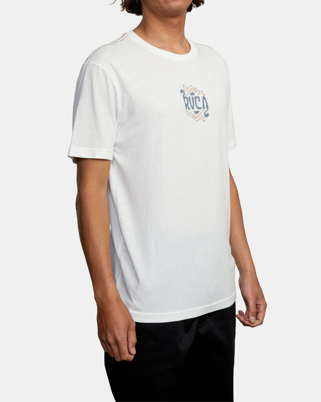 6 TRIPPY TIMES SHORT SLEEVE TEE White AVYZT00202 RVCA