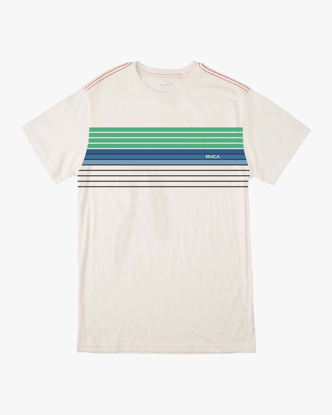 0 STRATE UP SHORT SLEEVE TEE White AVYZT00215 RVCA