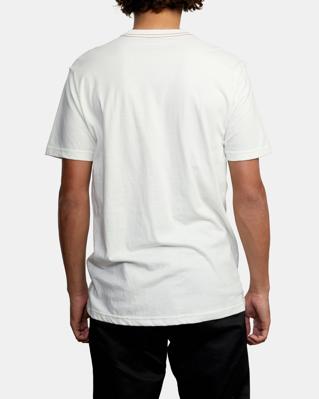 2 STRATE UP SHORT SLEEVE TEE White AVYZT00215 RVCA