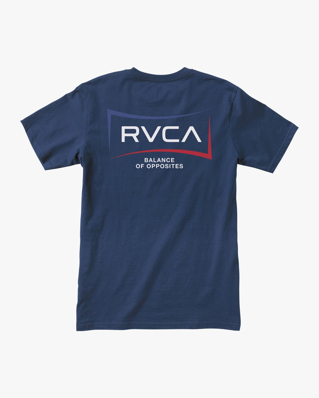1 RETURN SHORT SLEEVE TEE Blue AVYZT00235 RVCA