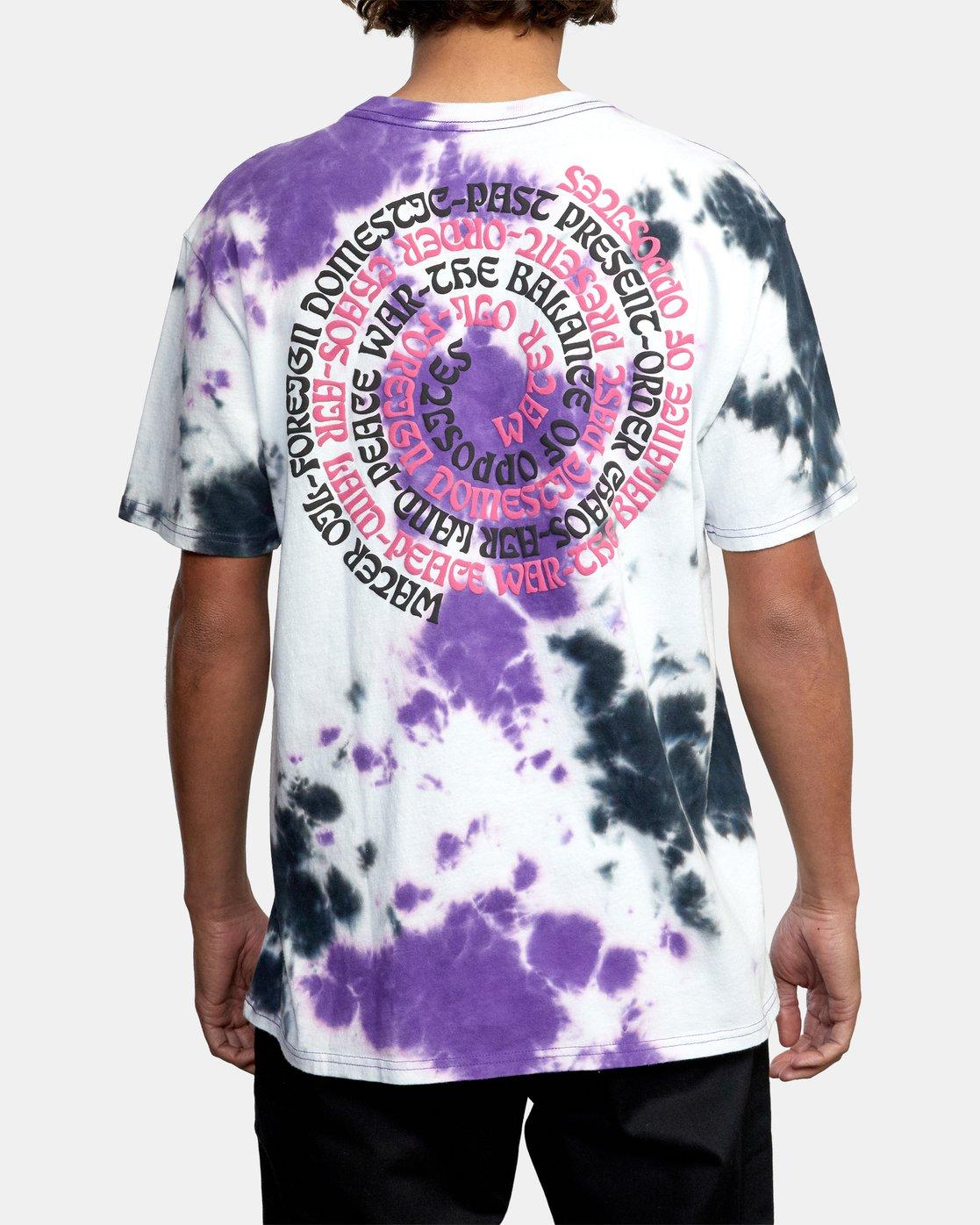 4 VORTEX SHORT SLEEVE TEE Purple AVYZT00250 RVCA