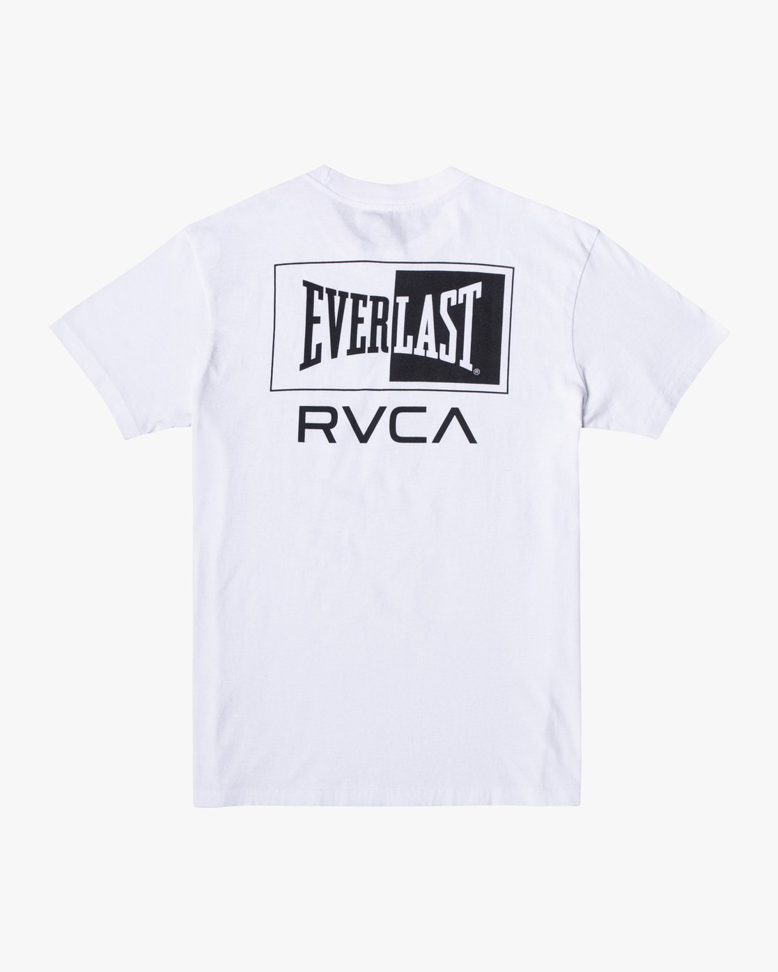 1 EVERLAST STACK SHORT SLEEVE WORKOUT T-SHIRT White AVYZT00286 RVCA