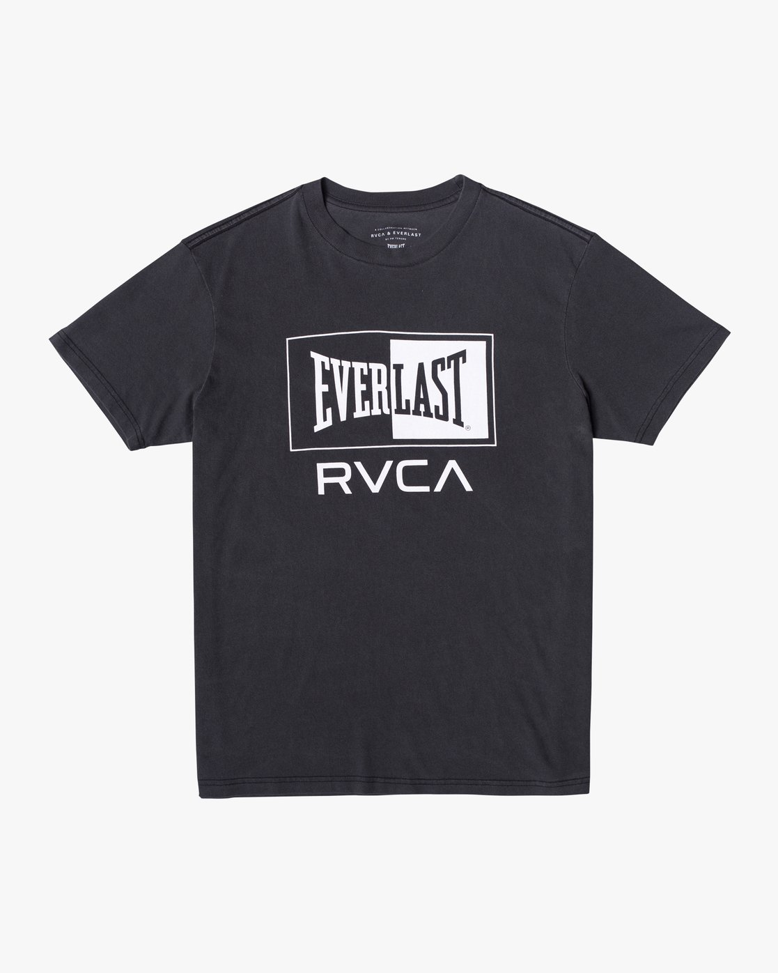1 EVERLAST BOX SHORT SLEEVE WORKOUT T-SHIRT Black AVYZT00287 RVCA