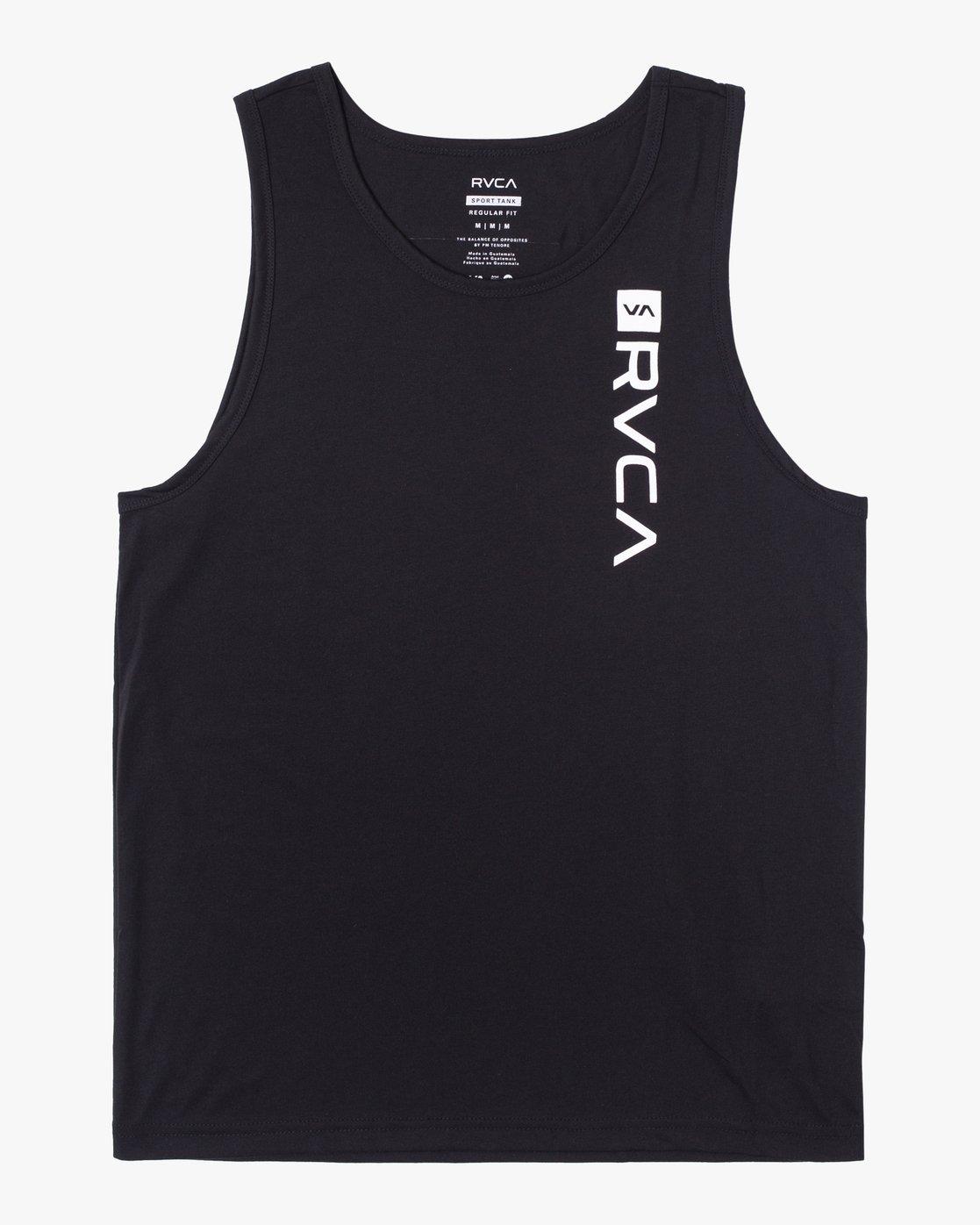 0 RVCA BOX TANK Black AVYZT00291 RVCA