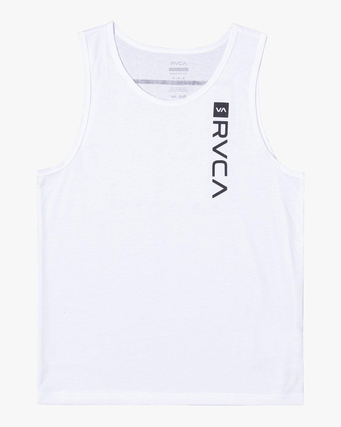 0 RVCA BOX TANK White AVYZT00291 RVCA
