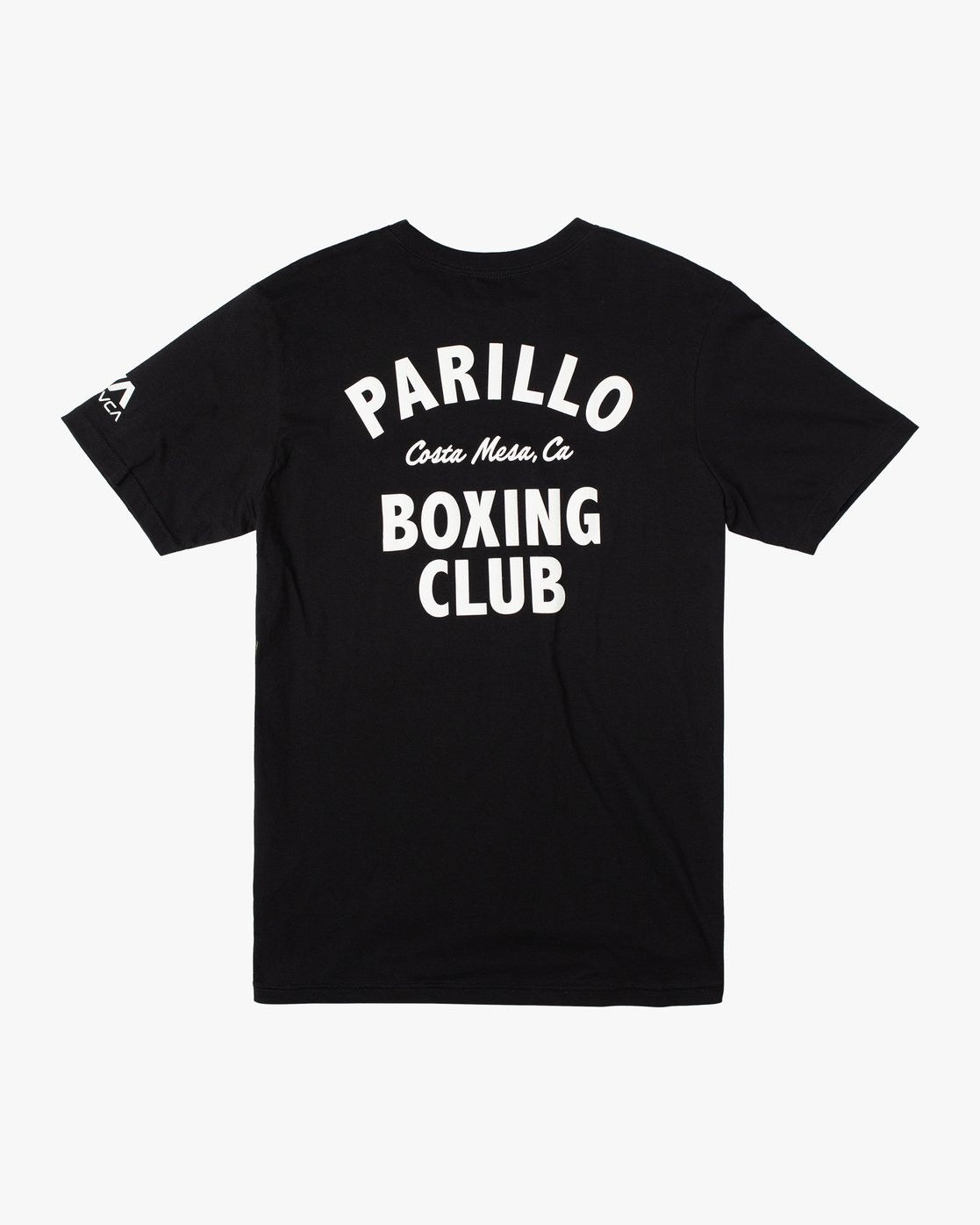 1 Parillo Boxing Club Short Sleeve T-Shirt Black AVYZT00298 RVCA
