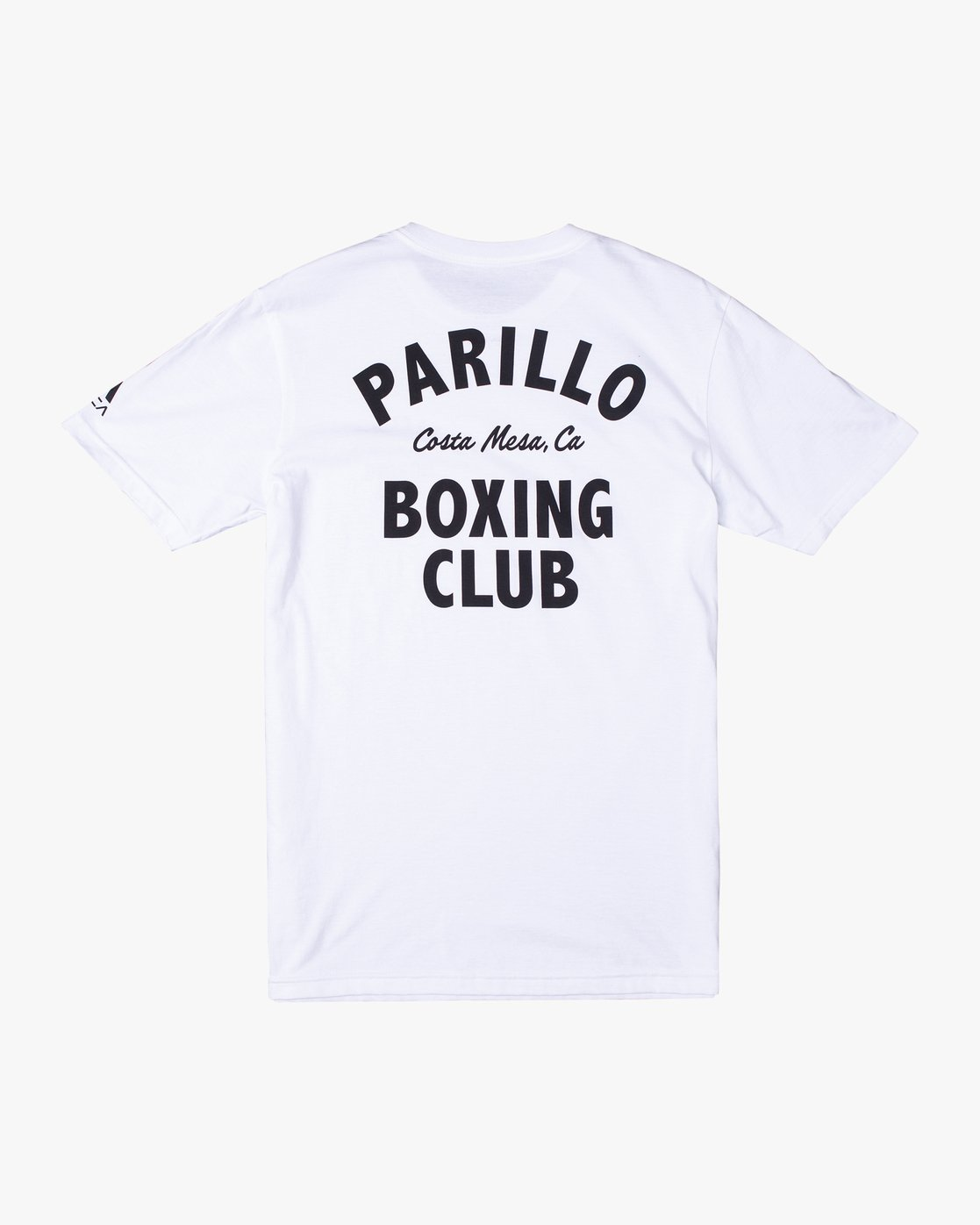 1 Parillo Boxing Club Short Sleeve T-Shirt White AVYZT00298 RVCA