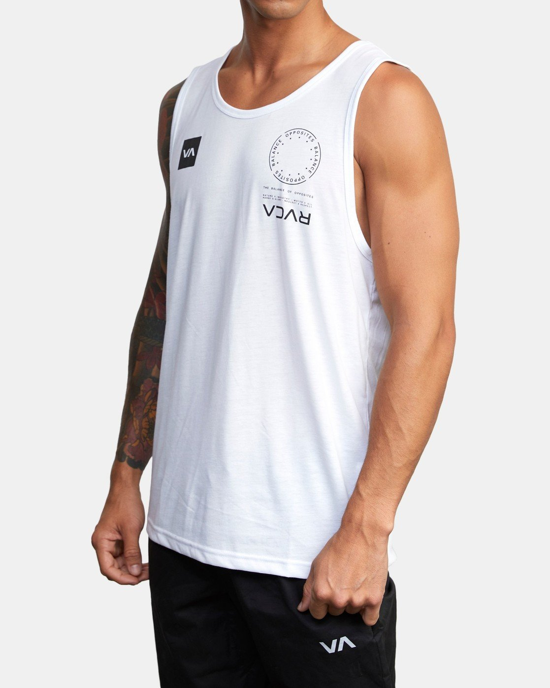 1 VA MARK TANK White AVYZT00351 RVCA