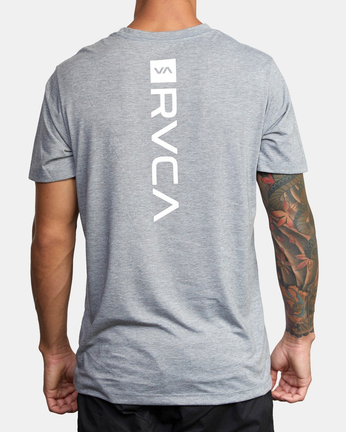 3 VA MARK TEE Grey AVYZT00355 RVCA