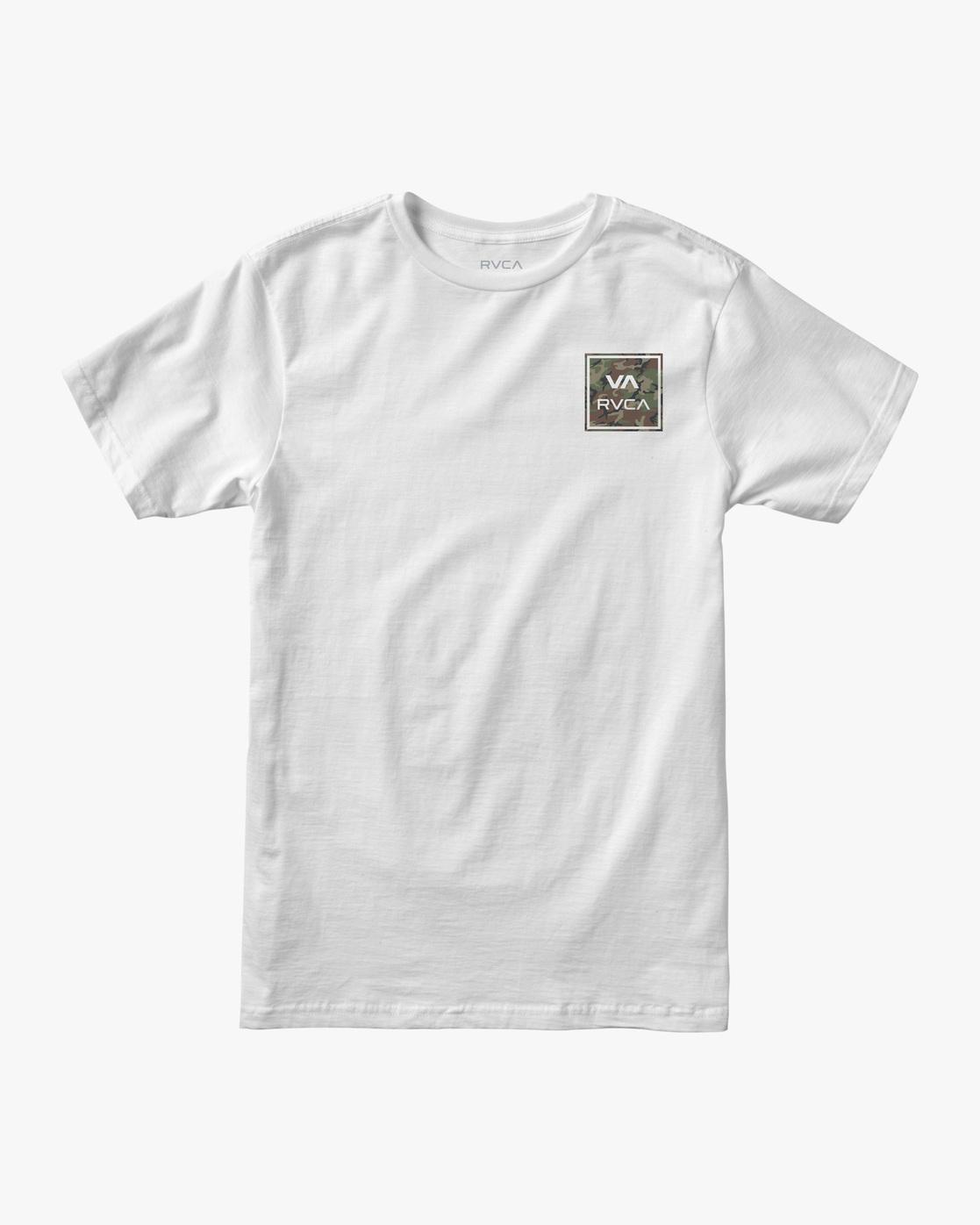 0 VA All The Way Short Sleeve Tee White AVYZT00480 RVCA