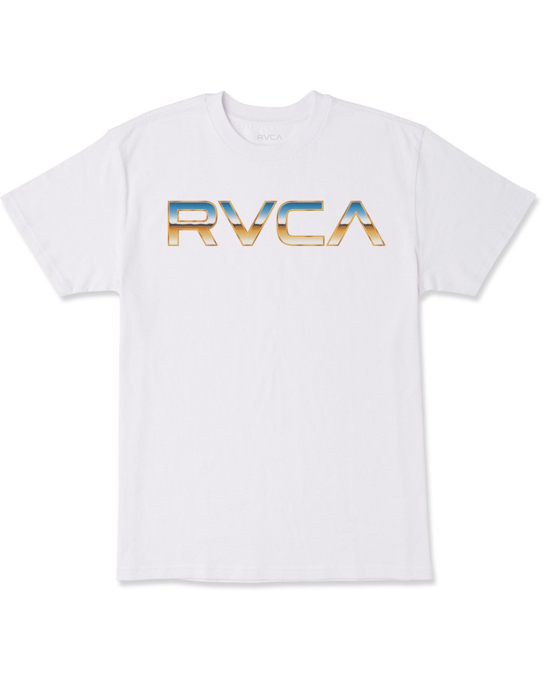 0 Krome Short Sleeve Tee White AVYZT00486 RVCA