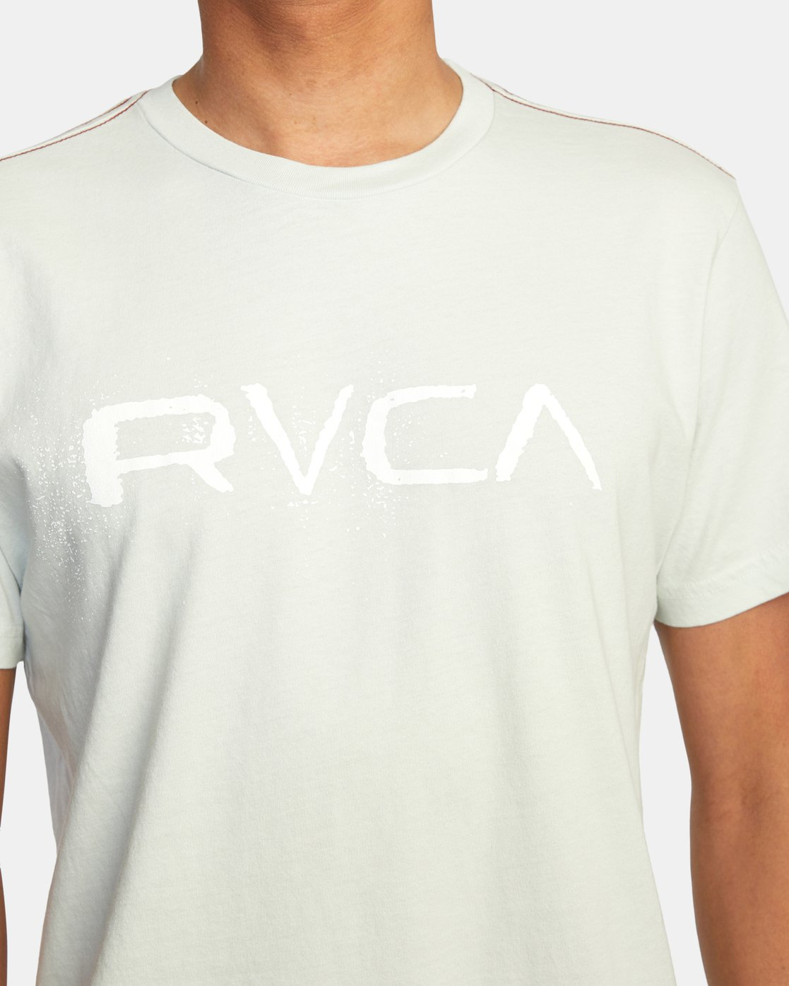 5 Bleecher Short Sleeve Tee Green AVYZT00491 RVCA