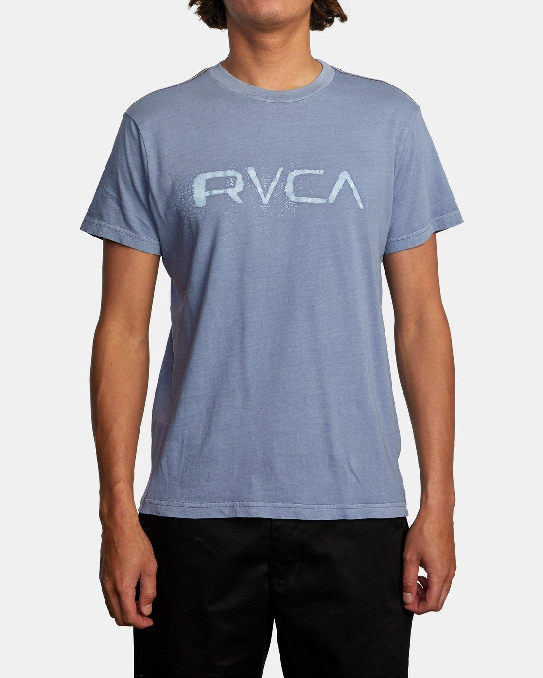 1 Bleecher Short Sleeve Tee Grey AVYZT00491 RVCA