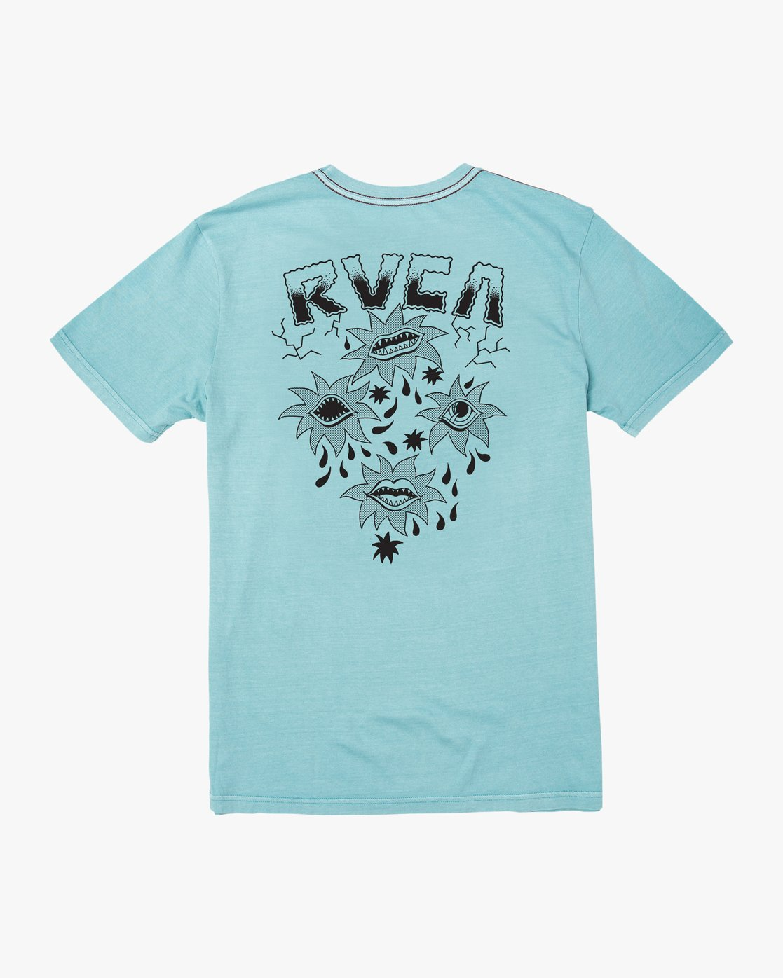1 DMOTE STARFISH SHORT SLEEVE TEE White AVYZT00509 RVCA