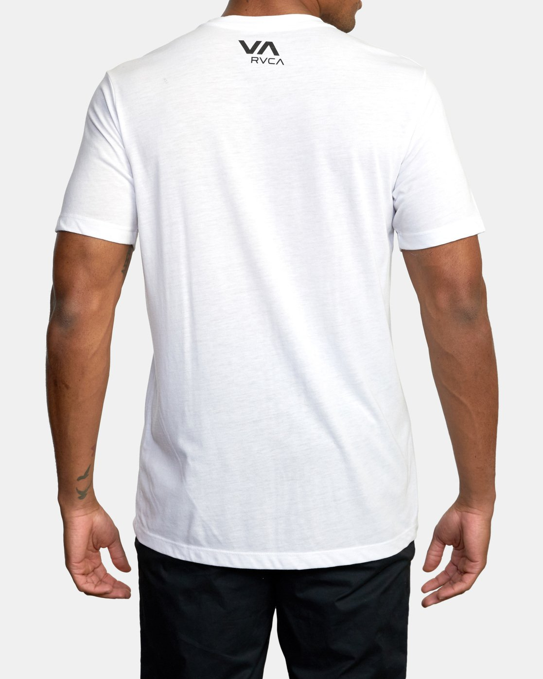 3 VA Box Fill Short Sleeve Tee White AVYZT00518 RVCA