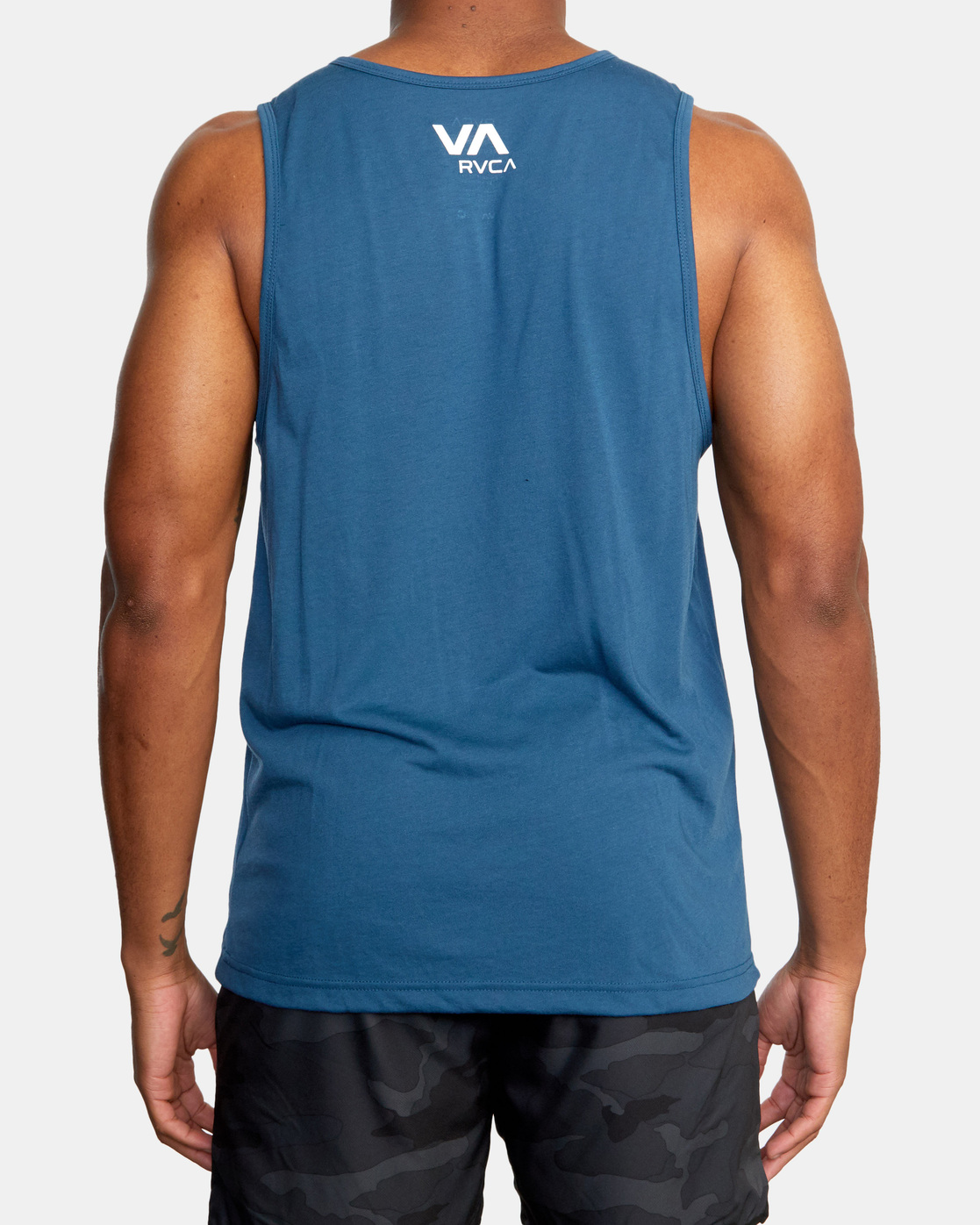 3 Two Bar Tank Top Blue AVYZT00525 RVCA