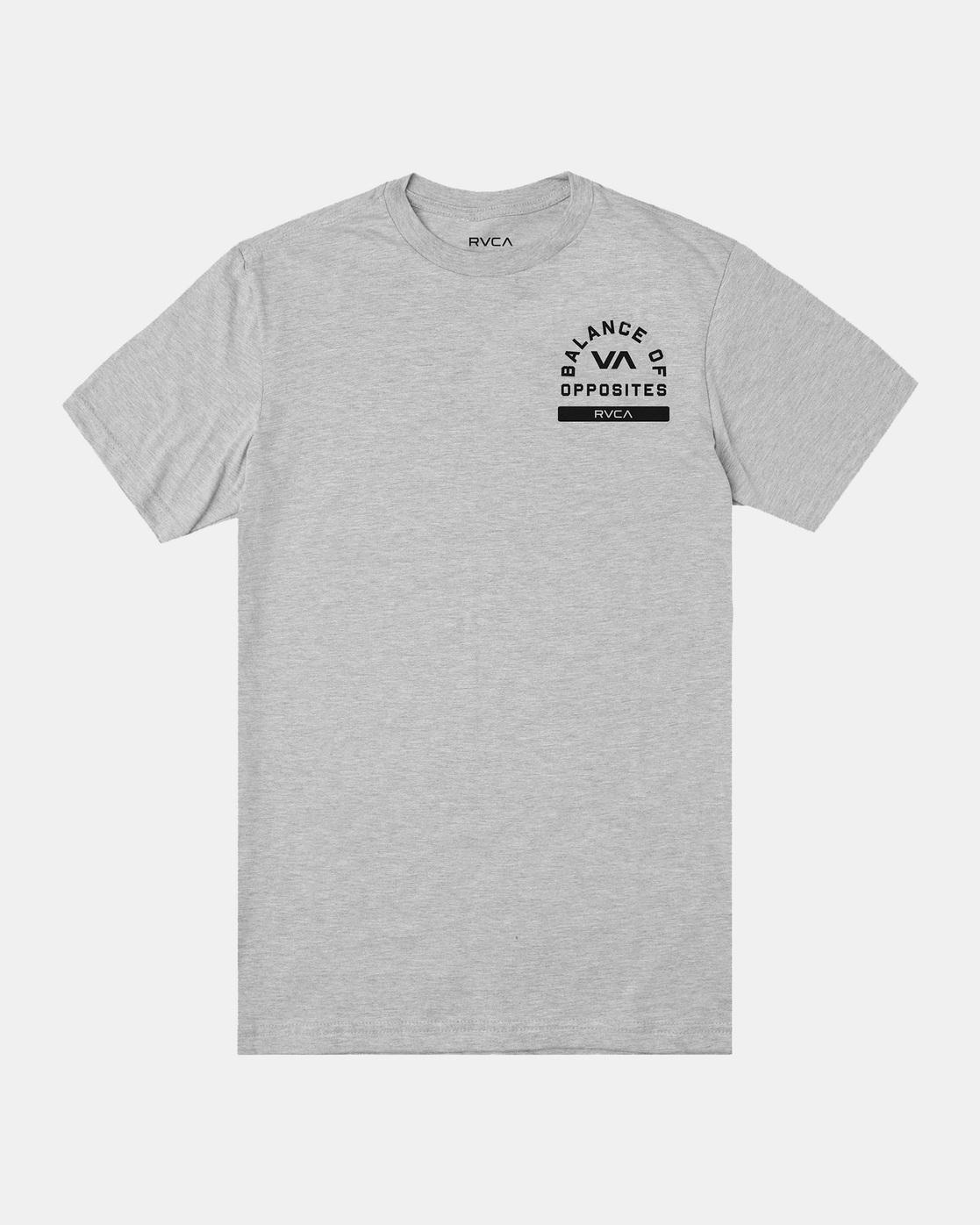 0 RVCA PE Short Sleeve Tee Grey AVYZT00528 RVCA