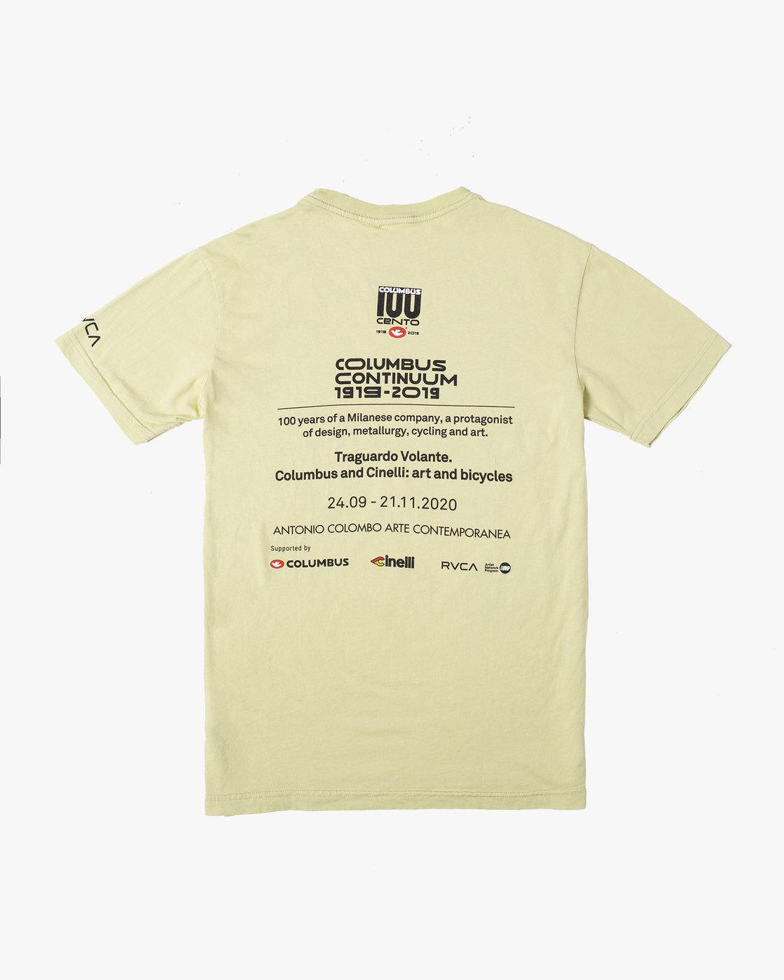 1 BARRY X CINELLI TEE Green AVYZT00622 RVCA