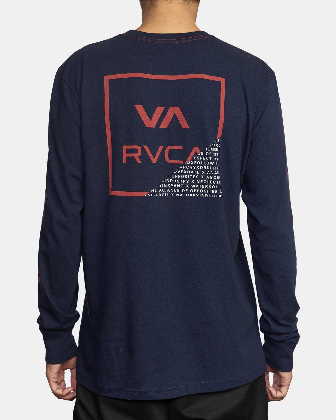 3 FRACTION LS Blue AVYZT00665 RVCA