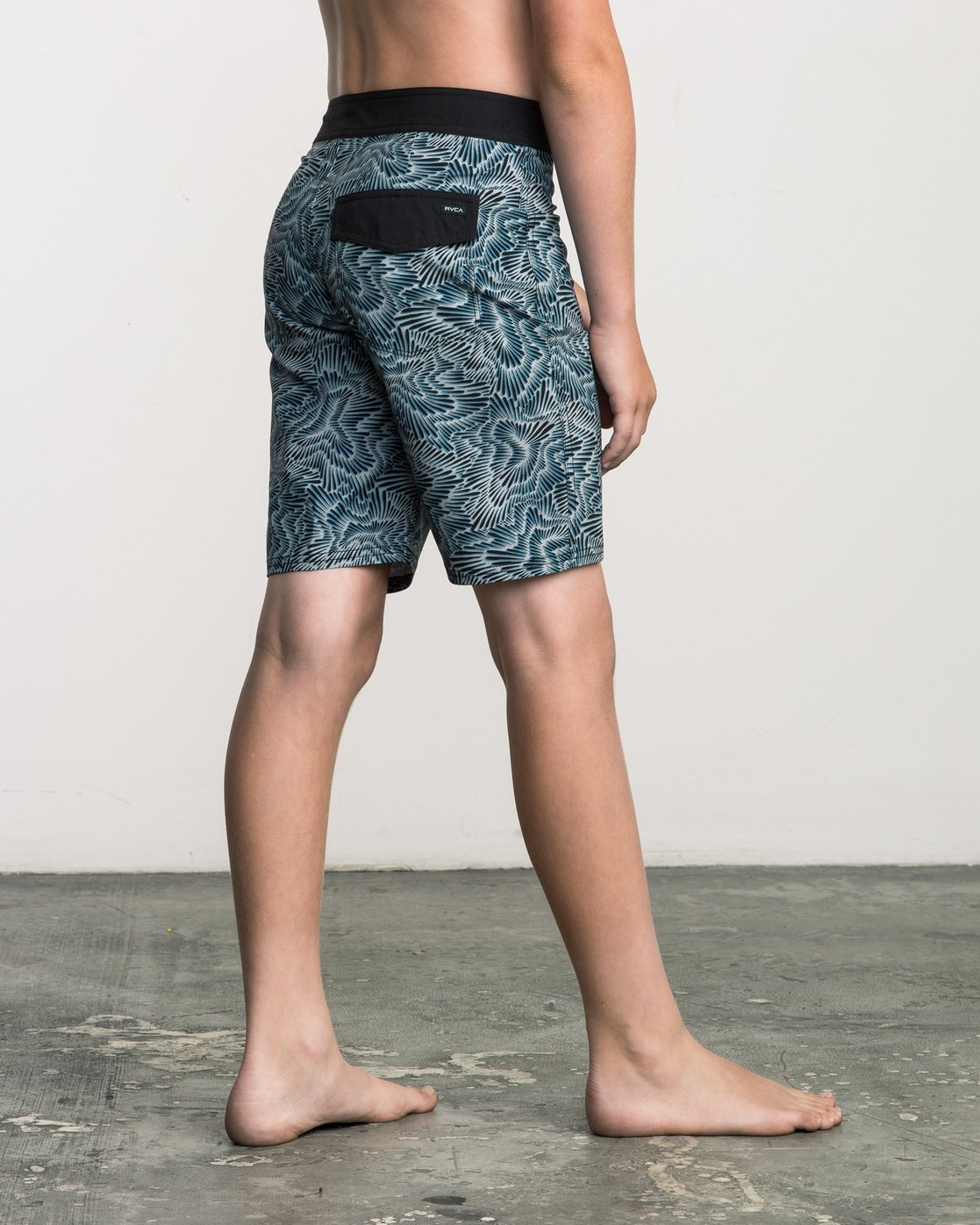 5 Boy's Halston Printed Trunk Multicolor B101SRHA RVCA