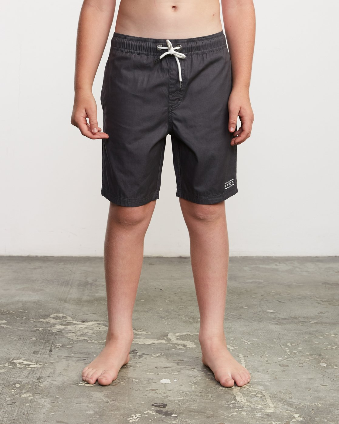 "1 Boy's Tom Gerrard Elastic 16"" Trunk Black B103URGE RVCA"