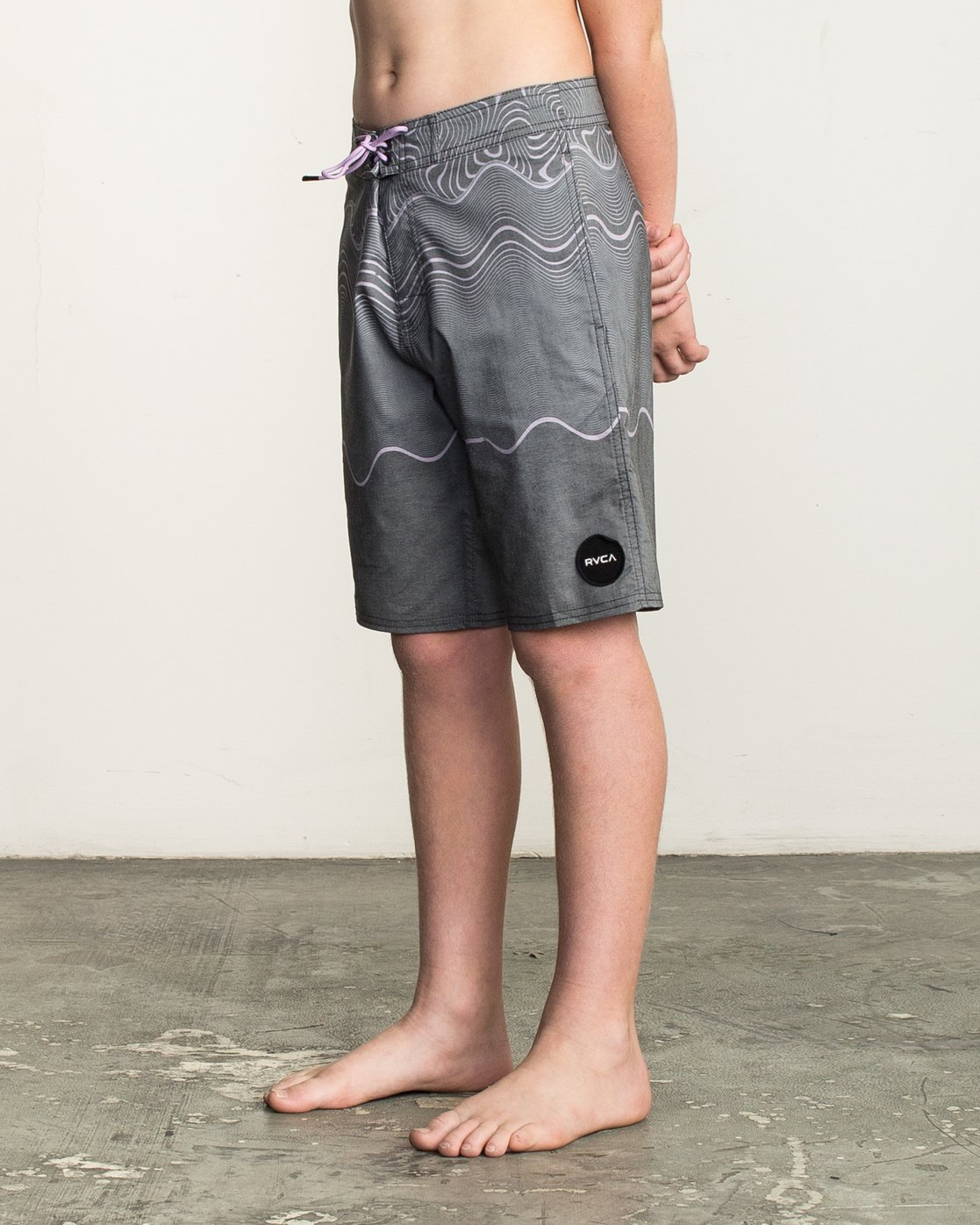 2 Boy's Pulled Lines Trunk  B149TRPU RVCA